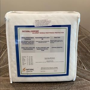 Other - NWT Allergy Shield Mattress Protector